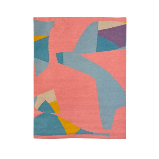 Image of The Knot Collective | Mike Perry Flat Rug Wool