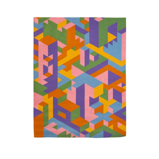 Image of The Knot Collective | Kate Moross Flat Rug Wool