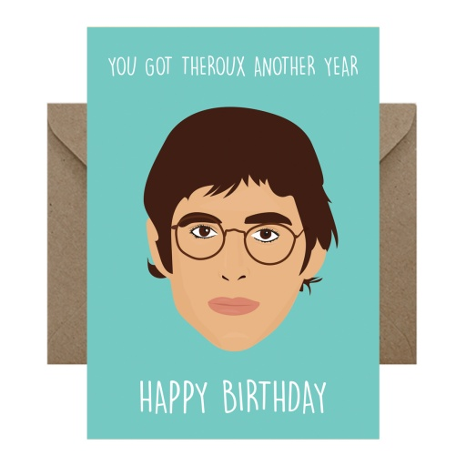 Image of Rumble Cards | Louis Theroux Card Theroux Another Year