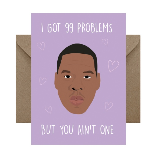 Image of Rumble Cards | Jay Z Card 99 Problems