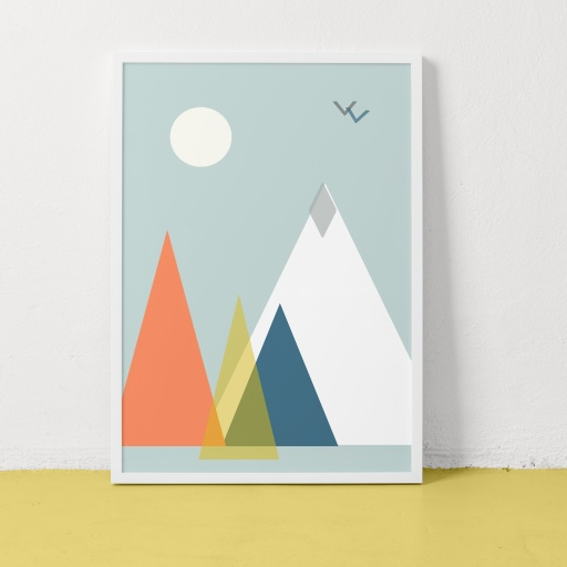 Image of Clare Nicolson | Mountain Multi - Recycled Paper