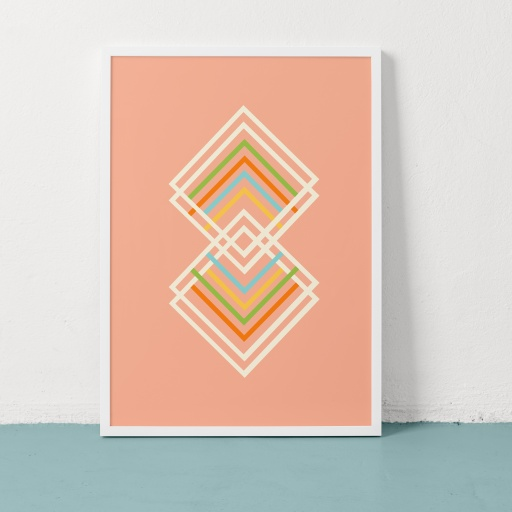 Image of Clare Nicolson   Sports Day Pink - Recycled Paper