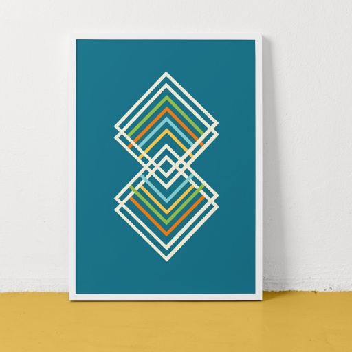 Image of Clare Nicolson | Track and Field Green - Recycled Paper