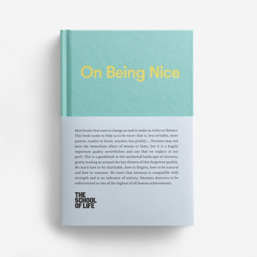 Image of The School Of Life | Book: On Being Nice