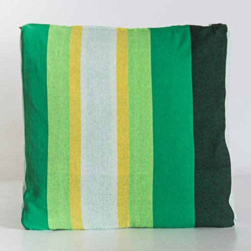 Image of Nommy | Handloom Cushion Cover NCC004 - Cotton Multi Stripe