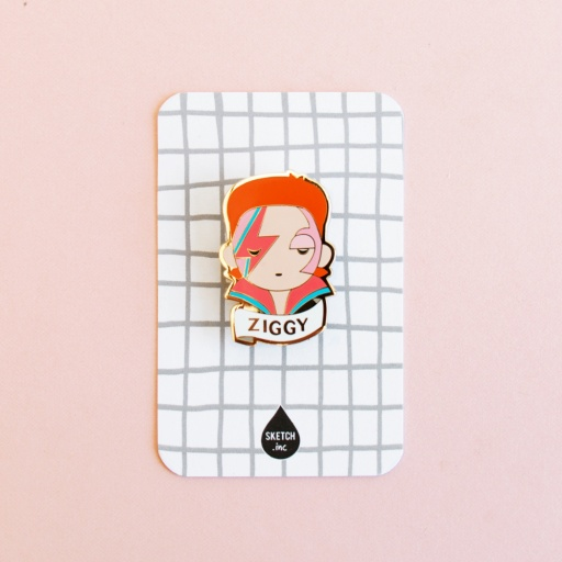 Image of Sketch Inc. | Brooch - Ziggy