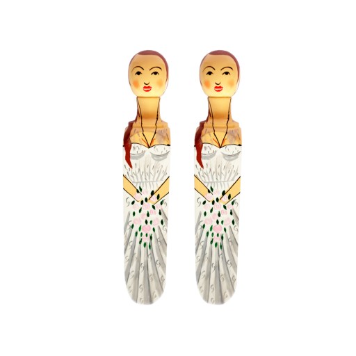 Image of Wedgie | Door Stoppers - Wedding Pack - (Sandra & Sandra) Wood