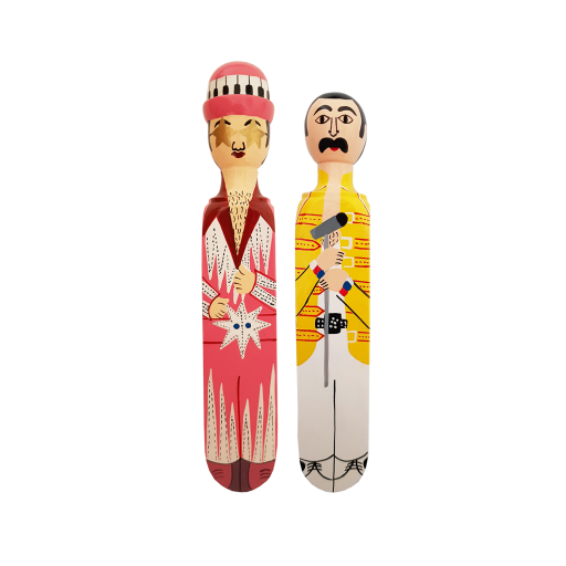 Image of Wedgie | Door Stopper - Pop Star Pack 1(Ellton & Freddy) Wood