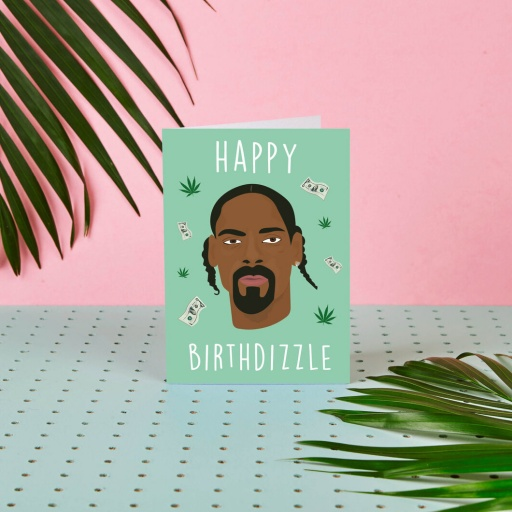 Image of Rumble Cards | Snoop Dogg Card Happy Birthdizzle