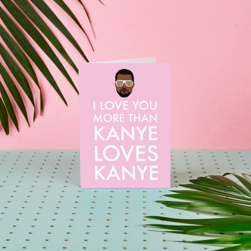 Image of Rumble Cards | Kanye Card Kanye Loves Kanye