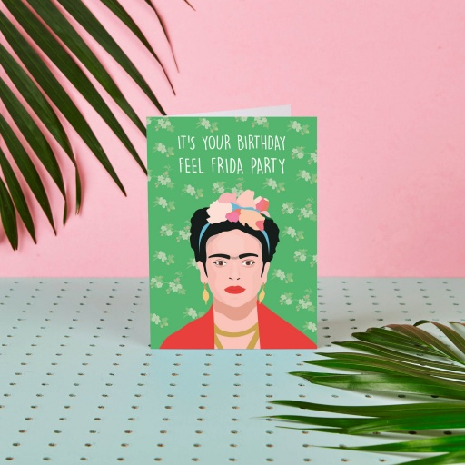 Image of Rumble Cards | Frida Kahlo Card Feel Frida Party