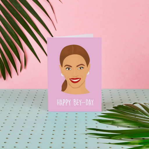 Image of Rumble Cards | Beyonce Card Happy Bey-Day