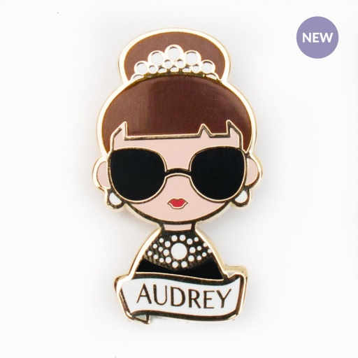 Image of Sketch Inc. | Brooch - Audrey