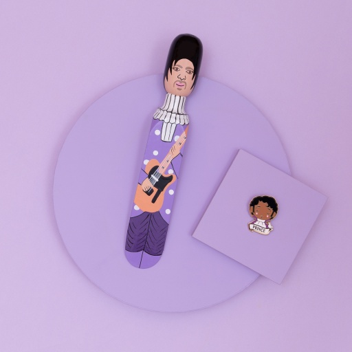Image of Wedgie   Door Stopper - The Purple One Gift Set